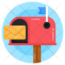 Postbox Mailbox Letterbox Icon