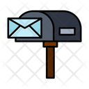 Mailbox Letterbox Residential Mailbox Icon