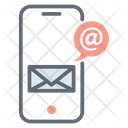 Mobile Mail Email Correspondence Icon