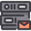 Mail Database Network Icon
