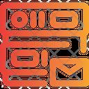 Mailing Database Icon
