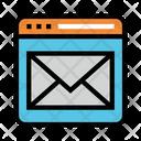 Inbox Internet Online Icon