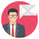 Mailman Business Mailing Icon