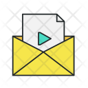 Main Video Message Icon