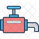 Main Pipeline Pipe Valve Pipeline Icon