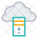 Mainframe Cloud Server Icon