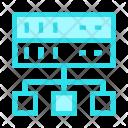 Network Mainframe Database Icon