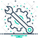 Maintain Preserve Wrench Icon