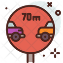 Maintain Distance Icon