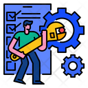 Maintenace Tool Equipment Icon