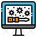 Maintenance Problem Screwdriver Icon