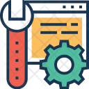 Maintenance Cog Preferences Icon