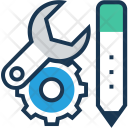 Maintenance Cog Spanner Icon