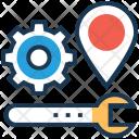 Maintenance Optimization Spanner Icon