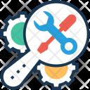 Maintenance Cog Settings Icon