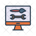 Setting Maintenance Spanner Icon