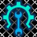 Development Wrench Under Maintenance Icon