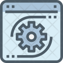 Process Maintenance Coding Icon