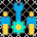 Technicians Repairs Team Maintenance Team Icon