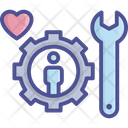 Customer Heart Maintenance Icon