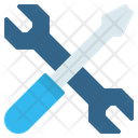 Maintenance Wrench Screwdriver Icon