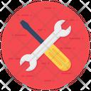Maintenance Repairing Tool Mechanical Tools Icon