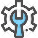 Maintenance Repair Wrench Icon