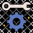 Maintenance Configuration Gear Icon
