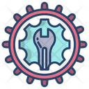 Maintenance Repair Service Icon