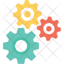Maintenance Repair Cogs Icon