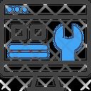 Maintenance Computer Setting Icon