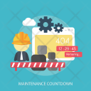 Maintenance Countdown Icon