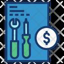 Maintenance Fee Money Codominium Icon