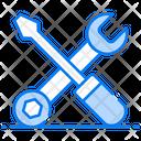 Maintenance Tools Repairing Equipment Mechanic Tools Icon