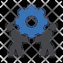 Maintenance Worker Engineer Icon