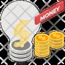 Make Money Financial Innovation Money Generation Icon