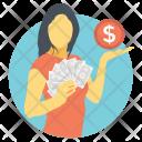 Make Money Earnings Icon