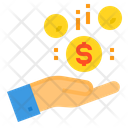Make Money Business Coins Icon