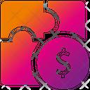 Make Money Tactics Work Man Icon