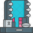 Mmake Up Make Up Dreasing Room Icon
