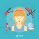 Makeup Women Care Icon