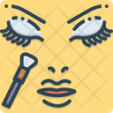 Makeup Cosmetic Brush Icon