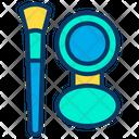 Makeup Box Brush Mirror Icon