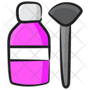 Makeup Brush Makeup Accessories Makeup Blusher Icon