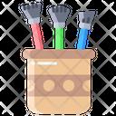 Abrush Brushes Pot Icon