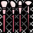 Makeup Brush Highlight Contour Icon