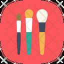 Makeup Brushes Applicator Icon
