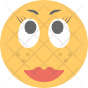 Makeup Emoticon Icon