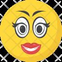 Makeup Emoticon Love Icon