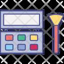 Beauty Care Blush On Kit Cosmetics Icon
